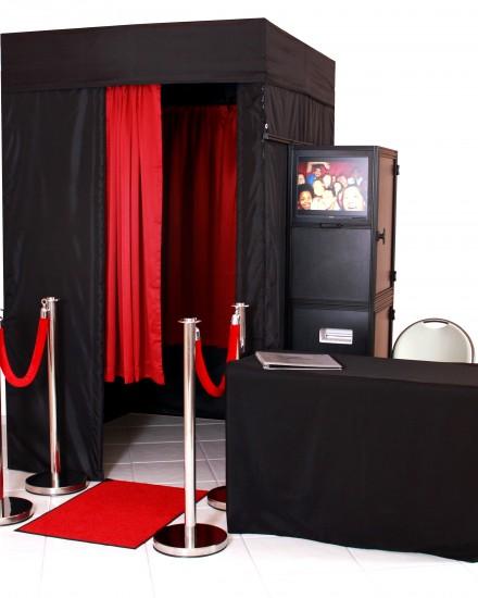 Levi S Stadium Red Carpet Star Booth Setup